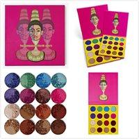 12pcs New Maquillage Eyes Juvia's Masquerade Palette 16 Colors Eyeshadow Livraison gratuite en stock