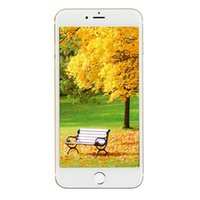 5,5-дюймовый IPS 1280 * 720 HD Goophone i7 Plus V5 3G WCDMA MTK6580 Quad Core 1.3GHz 1GB 8GB + 32GB Android 6.0 ОС IOS 10 Тема 13 Мпикс камеры смартфон