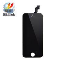 Bonne Qualité AAA Avec Monture Lcd Screen Pour iphone 5 5S 5c Lcd Avec Touch Digitizer Assemblage Noir Couleur