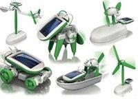 AAAA quality DIY 6 in 1 Solar Educational Kit Toy Boat Fan C...