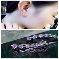 Four Prong Setting CZ Crystal White   Rose Gold Plated Dippe...