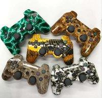 Contrôleur de jeu PS3 sans fil PS3 jeu pad bluetooth gamepad couleurs de camouflage pour jeux vidéo Playstation 3