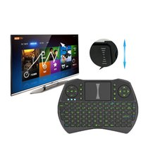 Air Mouse Combo Mini i9 2. 4G Wireless Keyboard Touchpad comb...