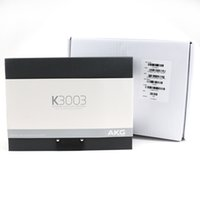 K3003i Наушники Наушники-вкладыши с розничной коробкой используется headphoens в уши наушники AAA падение качества доставки