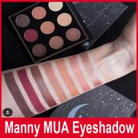Новый макияж Мэнни MUA Косметика Eyeshadow Мэнни муа тени для век Пудра Kit Palette от Janet