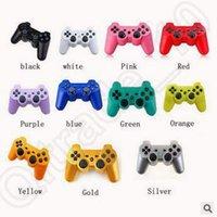 11 cores PS3 controlador controlador de jogos sem fio Gamepad para PS3 PS3 Joysticks CCA5368 30pcs