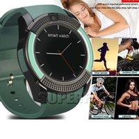 V8 Smart Watch Wireless Bluetooth Smart Watch 0. 3M Camera Su...