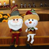 New Arrival Santa Claus Snowman Christmas Red Toy Dolls Chri...