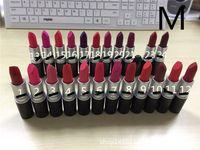 Makeup M Brand Matte Lipstick Batom Fosco Rouge Lipstick 3g ...