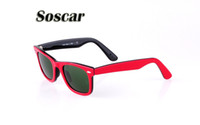 Soscar Fashion Sunglasses for Women Brand Designer Summer Su...