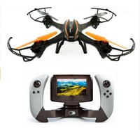 2.4G 4CH drones professionnels 6axis gyro RC drone avec caméra HD 1080p fpv RC quadcopter avec caméra