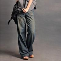 Оптовые- джинсыы новых женщин способа год сбора винограда, кальсоны джинсовой ткани джинсовой ткани повелительниц вскользь освобождают перевозку груза Y678