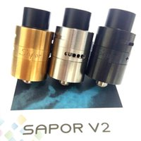 Vaporizer Sapor V2 RDA Atomizers 3 Colors 22MM Diameter PEEK...