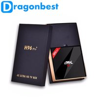 Android TV Box H96 Pro Plus Amlogic S912 Octa- Core 3G 32G Ma...