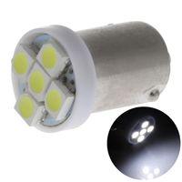 100X ba9s 1SMD 5SMD 3528 Chips Car LED Interior Lamp Dashboa...
