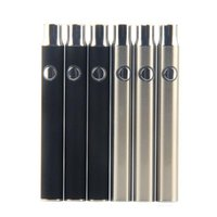 Préchauffe batterie 350mah cbd O stylo tension variable 4.1-3.9-3.7v batterie de préchauffage pour CO2 510 batterie de vaporisateur de cartouche de fil