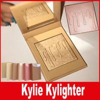 Kylie Kylighter - идеальный комплект свечей для кайли Bronzers Highlighters 6 style Kylie Cosmetics Kylighter glow kit