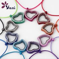 Hot New Love Heart Style 30mm 9 Color Living Memory Floating...