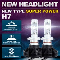 2pcs set H7 CREE Chips Car LED Headlight Conversion Kit 50W ...