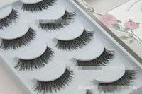 Charming Black False Eyelashes 1- 1. 5cm Designer Makeup Natur...