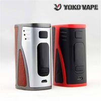 Plus récents Hugo Vape Yoko Vape DNA250 250W Boîte TC Mod Evolv ADN 250 Puce Ecig Puissance Régulée Digital Mode Commutation E-cigarette Vape Mods
