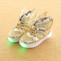 2017 spring and autumn trade new light shoes children shoes ...