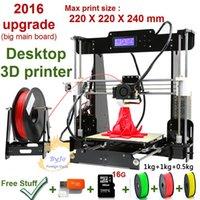 New Upgrade desktop 3D Printer Prusa i5 Size 220*220*240 mm ...