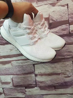 2017 Newest ultra boost V2 Newest Color Ultra Boost White Sh...