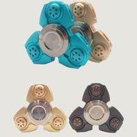 Fidget Spinner Russie CKF High Copy Hand Spinner Toy Doigts en aluminium doigts en spirale jouets en relief HandSpinner OTH366