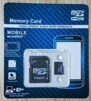 Tarjeta micro del SD de 16GB 32GB 64GB SDHC SDXC USH-1 Class10 TF Tarjeta micro del SD con dropship libre del paquete al por menor para 12 meses de garantía