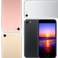 El smartphone del marco del metal del androide 6 de la falsificación 4G LTE de la demostración de la huella digital 1G / 8G de la huella digital de la base del patio del Goofón i7 MTK6580 del 1: 1 4.7inch 1: 1 puede demostrar 1G / 256G falso