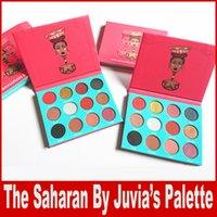 Цветовая палитра оттенков Eyeshadow от SAHARAN BY JUVIA 12 цветов Макияж Eye Shadow Palette DHL