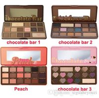 too face 4 color Sweet Peach Palette Eye Shadow Limited Edit...