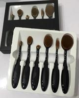 Новые Ана Овал макияж кисти зубная щетка макияжа тени для век Косметический фонд BB крем Румяна 6 шт Инструменты бесплатная доставка DHL