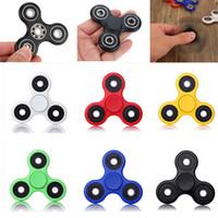 Ceramic Ball Tri- Spinner Fidget Spinner Toy Plastic EDC Sens...