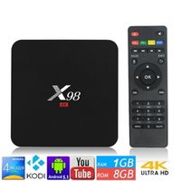 RK3229 X98 Android TV Box 4K 1. 5G Quad Core 1G 8G KODI Media...