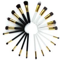 2016 Горячие Кабуки кисти для макияжа Профессиональная Косметика Кисть Kit Нейлон волос деревянная ручка Eyeshadow Foundation Tools Высокое качество бесплатная доставка