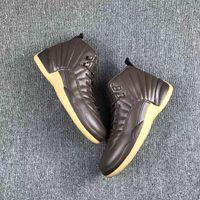 Retro 12 Chocolate color Men Basketball Sport Shoes XII Shoe...