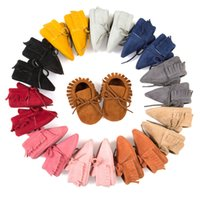 New Baby Tassels Lace- Up Shoes Fashion Spring Kids First Wal...