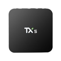 TX5 2GB 8GB BOX Amlogic S905X HD Totalmente Android 6.0 TV Quad Box Quad 1080P 3D H.265 4K Apps Smart Set Bluetooth Top Box IPTV VS MXQ Pro