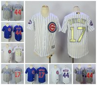 2017 Kids Chicago Cubs Jersey # 17 Kris Bryant 44 Anthony Rizzo jeune BOY Baseball Jerseys Best quality Mix Order