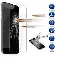 Stocks américains! 9H Verre trempé ForiPhone 6s Plus Premium Protector d'écran Film protecteur Téléphone Livraison gratuite