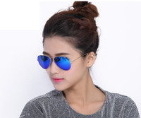 Pilot Flash Lenses Sunglasses Classic Brand Designer Sunglas...