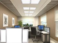 300x300mm / 300x600mm / 600x600mm Большой светодиодный потолочный потолочный потолочный потолочный светильник потолочного освещения 12W / 18W / 24W / 36W / 48W
