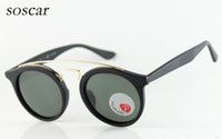 Round Lenses Sunglasses Brand Designer Polarized Sunglasses ...