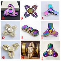 9 Types fidget spinner EDC Hand Spinner Fidget Toy Good Choi...