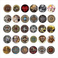 Free shipping PUNK mechanical snap button jewelry charm popp...