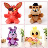 Оптово пять ночей На 4 FNAF Freddy Fazbear Медведь Bonny Кролик лисы чучел Фредди Плюшевые игрушки куклы 10