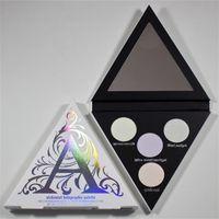 Forme Alchemist Palette d'ophtalmologie holographique 4 couleurs palette de maquillage surligneur Chaussure de qualité haute Livraison gratuite