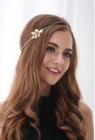 2016 Hot Sell Women Fashion Gold Flower Headband Chain Head ...